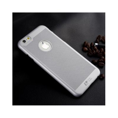 """Carcasa protectie spate din plastic mesh pentru Iphone 6 Plus 5.5"""" - gri0"""