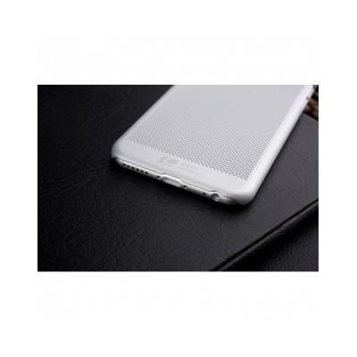 """Carcasa protectie spate din plastic mesh pentru Iphone 6 Plus 5.5"""" - gri"""