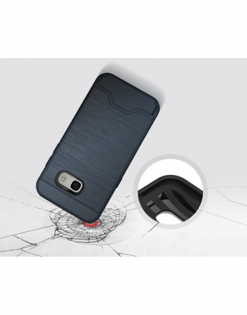 Carcasa protectie spate din plastic si gel TPU pentru Samsung Galaxy A3 (2017)3