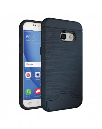 Carcasa protectie spate din plastic si gel TPU pentru Samsung Galaxy A3 (2017)1