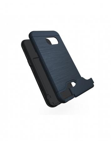 Carcasa protectie spate din plastic si gel TPU pentru Samsung Galaxy A3 (2017)2