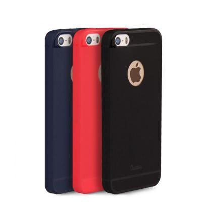 Carcasa protectie spate din silicon pentru iPhone SE / 5S / 51