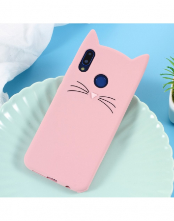 Carcasa protectie spate pisica pentru Huawei P20 Lite0