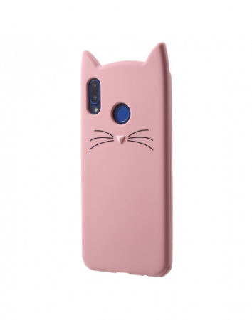 Carcasa protectie spate pisica pentru Huawei P20 Lite1