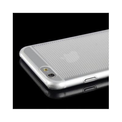 "Carcasa protectie spate tip mesh din gel TPU pentru Iphone 6 Plus 5.5""2"
