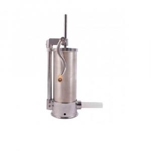 Aparat de umplut carnati ELEFANT KY-2006C, 3 kg vertical, din inox, 4 palnii, prindere de masa [0]