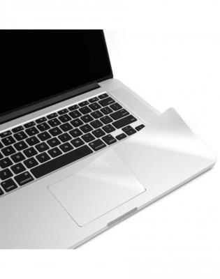"""Folie protectie palm rest si trackpad aspect aluminiu pentru MacBook Pro 15.4"""" (Non-Retina)0"""
