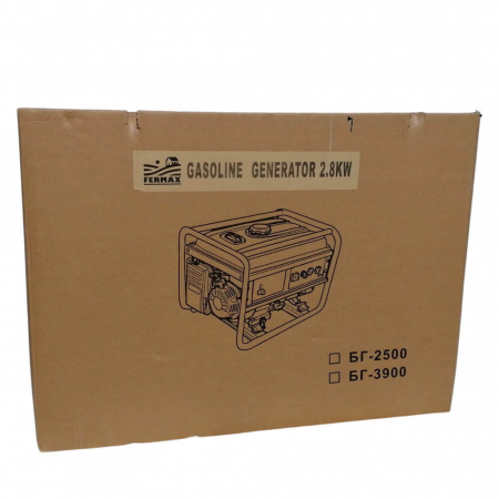 Generator electric pe benzina FERMAX, 2800W, 7Cp [2]
