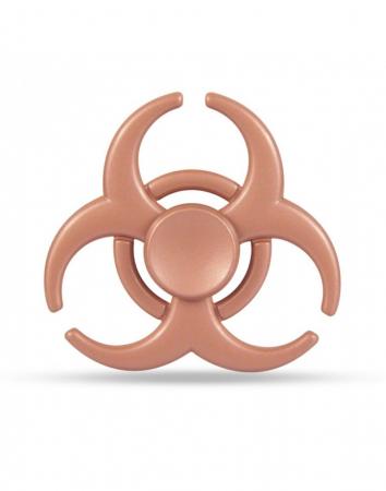 """Jucarie antistres Fidget Spinner cu model """"Toxic""""0"""