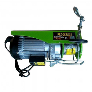 Macara electrica Procraft TP-500 250/500 Kg1