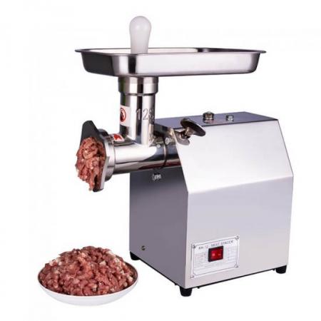 Masina de tocat carne electrica profesionala MK-12, Micul Fermier, 800w, 150Kg/h, inox [4]