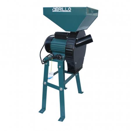 Moara electrica cu suport Brillo Professional, 3.8KW, 250 kg/heq [0]
