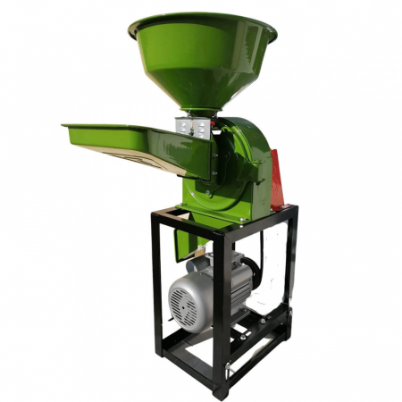 Moara cu ciocanele 2 in 1 pentru uruiala de cereale, Fermax, 2.2 Kw, 2800 rpm, 240 Kg/h, cuva mare [1]