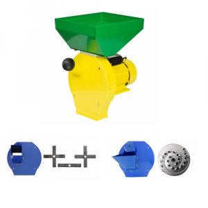 Moara cu ciocanele 3 in 1 (boabe, stiuleti, fructe, lucerna) PROCRAFT ME3500, Cuva Mare, 3500W, 200kg/h, 3000 rpm [0]