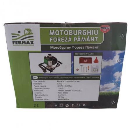 Motor Motoburghiu Foreza Fermax , 4 CP, 200 rpm5