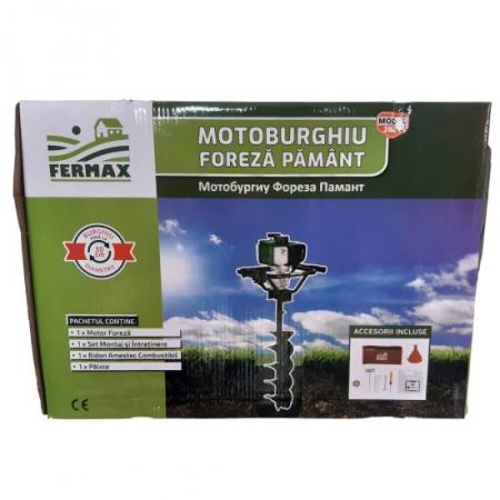 Motor Motoburghiu Foreza Fermax , 4 CP, 200 rpm4