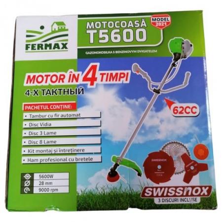 Motocositoare Fermax T5600, motor 4 timpi, 7CP, accesorii incluse14