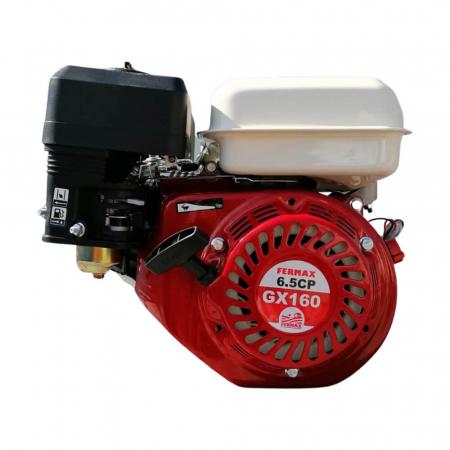 Motor benzina uz general, FERMAX, GX160, 6.5CP, ax cilindric 20mm [1]