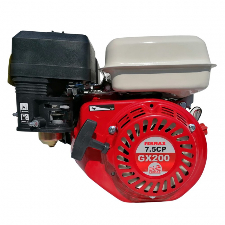 Motor benzina uz general, FERMAX, GX200, 7CP, ax cilindric 20mm [3]
