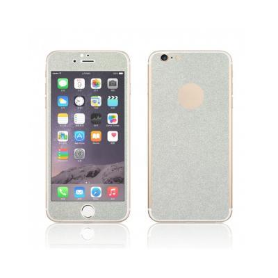 Pachet sticla securizata fata si sticker pentru spate cu sclipici pentru iPhone 6 Plus / 6s Plus 5.5 inch1