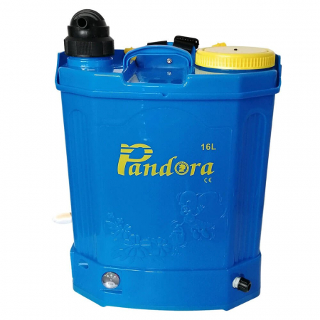 Pompa de stropit 2 in 1 (baterie + manuala) ,16L, Pandora [3]