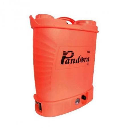 Pompa electrica pentru stropit cu acumulator, 18 litri, Pandora + Atomizor electric portabil Pandora [2]