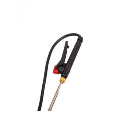 Pompa de stropit 2 in 1 (baterie + manuala), 16L, Pandora + Atomizor electric portabil Pandora + Lance extensibila telescopica inox 230 cm6