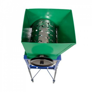 Tocator-Razatoare manuala pentru radacinoase, fructe si legume cu fulie pentru motorizare1