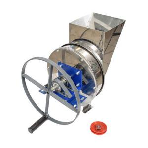 Tocator-Razatoare manuala cu fulie - integral din inox pentru tocat radacinoase, legume si fructe0