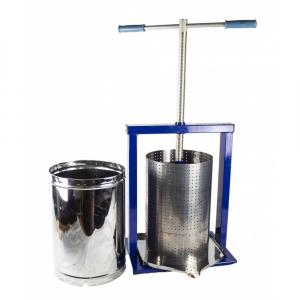 Teasc pentru struguri, din inox, manual, mecanic, Vilen, 15 litri9