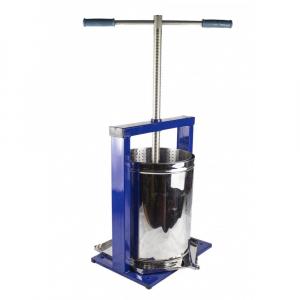 Teasc pentru struguri, din inox, manual, mecanic, Vilen, 15 litri11
