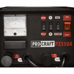 Robot pornire auto 12-24V, Procraft PZ550A,  2000W, Redresor2