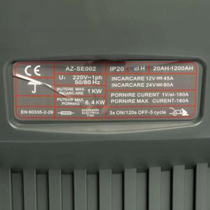 Robot pornire auto cu booster 12-24V, Almaz CD-430, Redresor2