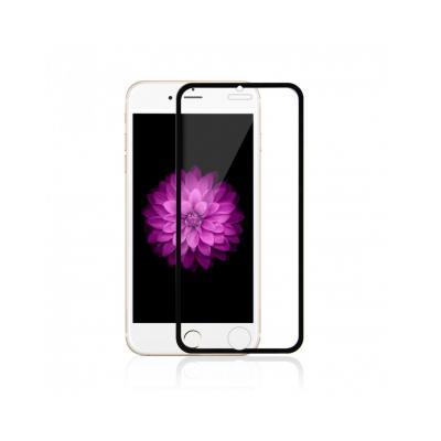 Sticla securizata 0.3mm protectie ecran cu rama pentru iPhone 6s / 6 4.7 inch, neagra0