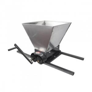 Zdrobitor manual de struguri, 300-350Kg/Ora, Cuva 35 Litri Detasabila din inox,ELEFANT HGP-50S2