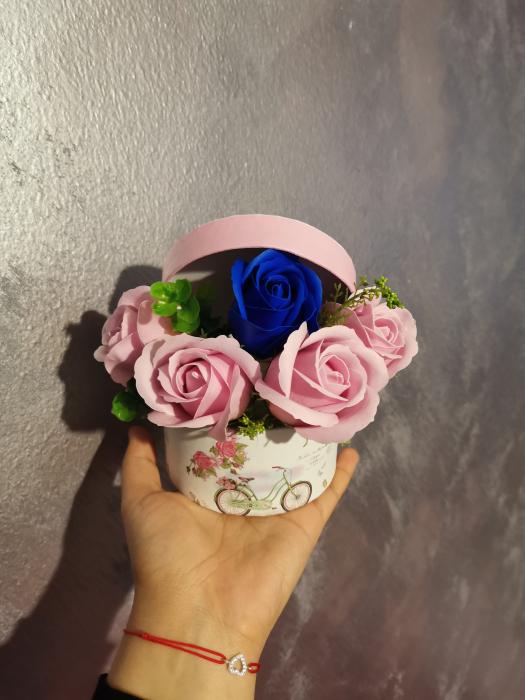 buchet trandafiri sapun [3]