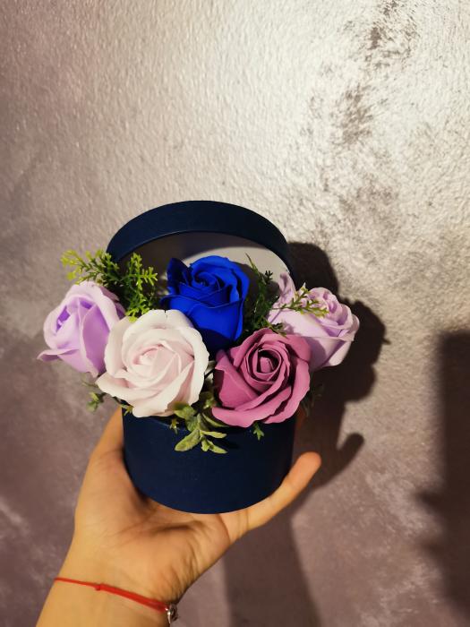 buchet trandafiri sapun [1]