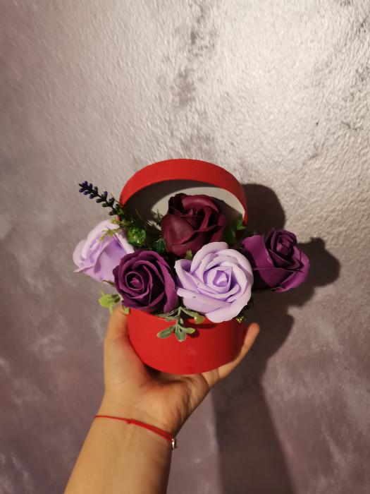 buchet trandafiri sapun [0]