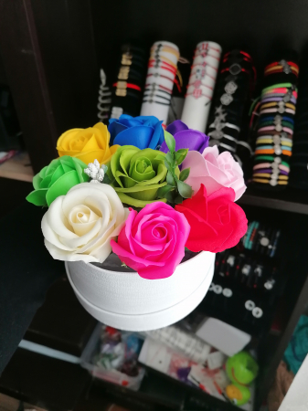 aranjament floral 9 trandafiri [1]