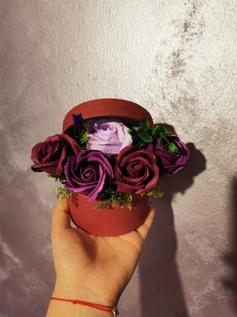 buchet trandafiri sapun [2]