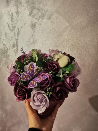 aranjament florar trandafiri sapun [7]