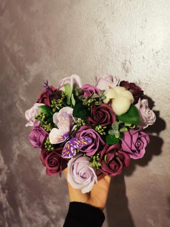 aranjament florar trandafiri sapun [5]