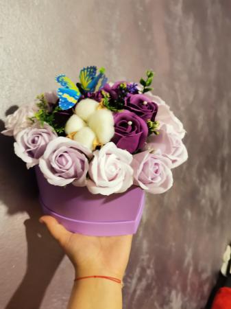 aranjament florar trandafiri sapun [1]