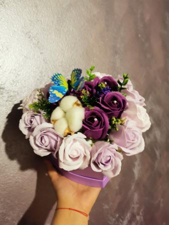 aranjament florar trandafiri sapun [3]