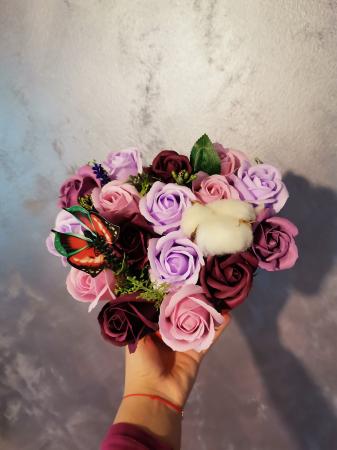 aranjament florar trandafiri sapun [0]