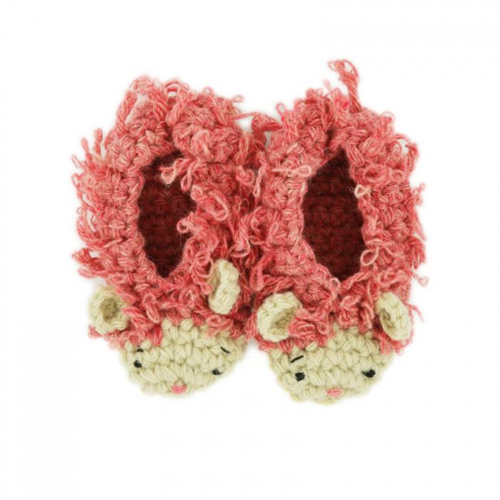 Papucei Oite, 100% lana romanesca 0