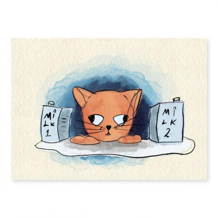 Art card, Pisica [0]