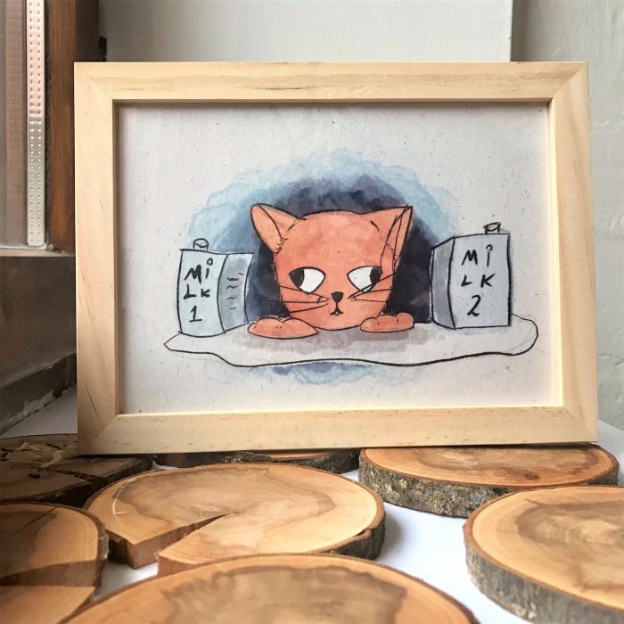 Art card, Pisica [4]