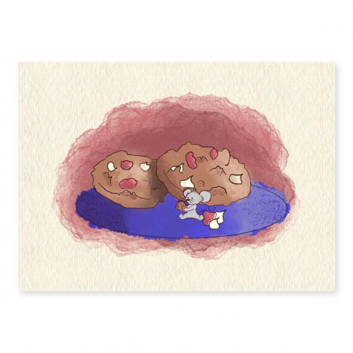 Art card, Soricel cu biscuiti [0]