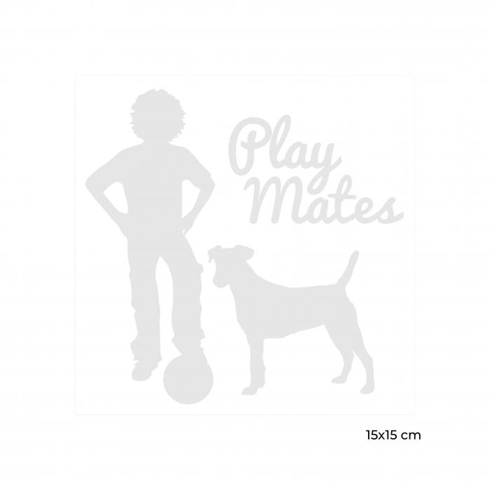 Sticker Auto Prieteni de Joaca 6